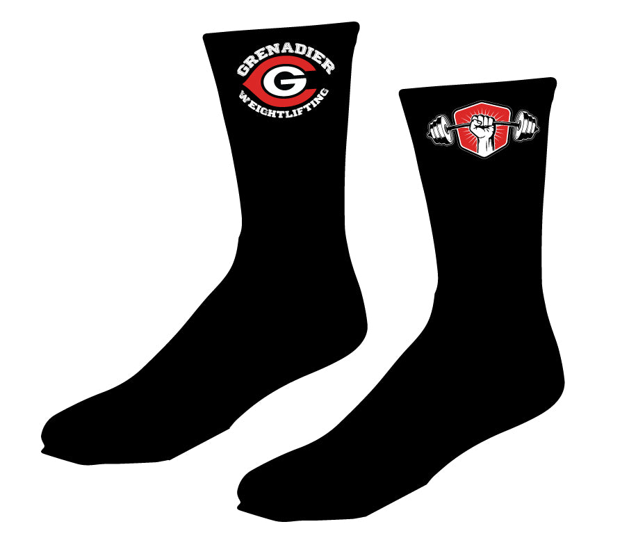 Colonial HS Weightlifting Sublimated Socks