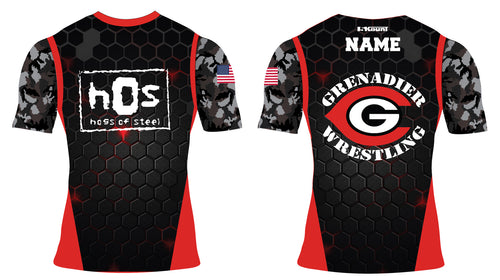 Colonial High School Wrestling Sublimated Compression Shirt