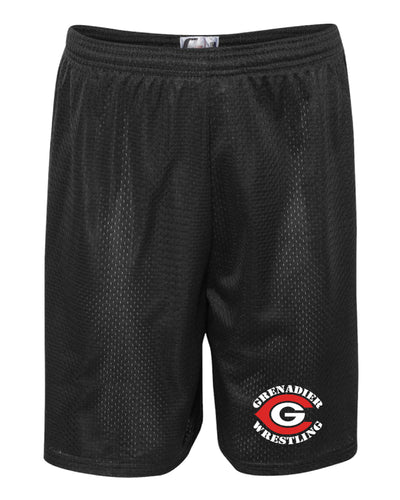 Colonial High School Wrestling Tech Shorts - Black