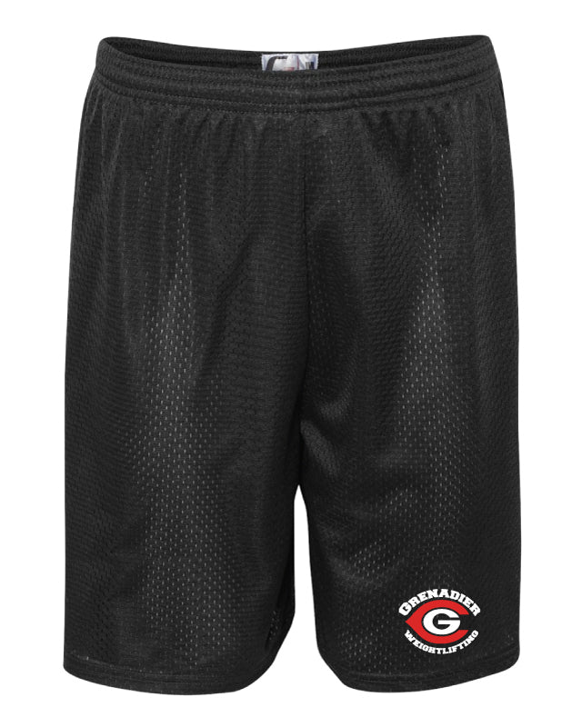 Colonial HS Weightlifting Tech Shorts - Black - 5KounT2018