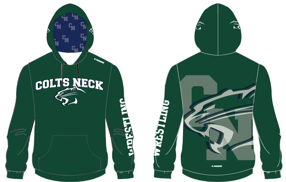 Colts Neck Sublimated Hoodie - 5KounT