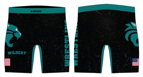 Royal Palm Beach Wildcat Sublimated Compression Shorts