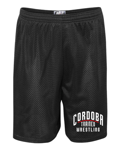 Cordoba Trained Tech Shorts - Black