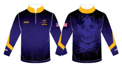 Pirate Sublimated Quarter Zip