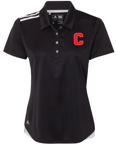 Cornell Dance Ladies' Adidas Polo - Black