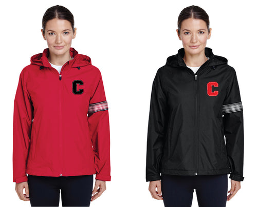 Cornell Dance All Season Hooded Jacket - Red or Black