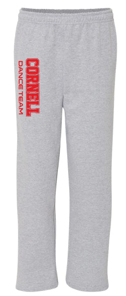 Cornell Dance Cotton Sweatpants - Grey