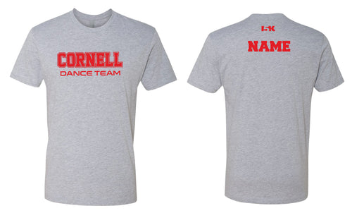 Cornell Men's Cotton Crew Tee - Cornell Grey