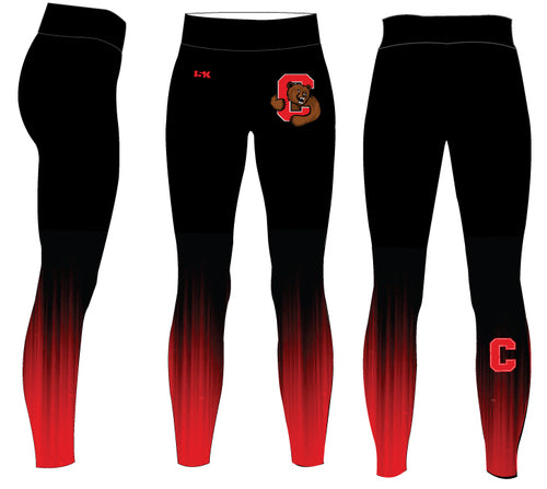 Cornell Dance Sublimated Ladies Legging - Ombré