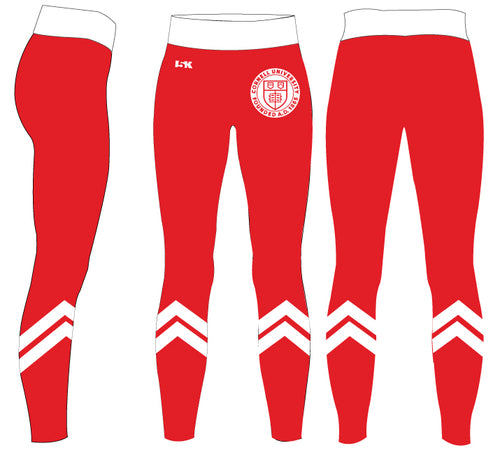 Cornell Dance Sublimated Ladies Legging - Red
