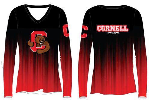 Cornell Dance Sublimated Long Sleeve Shirt - Ombré