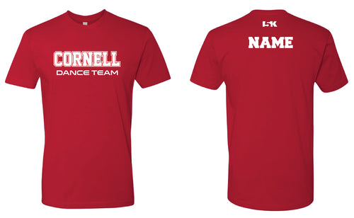 Cornell Men's Cotton Crew Tee - Cornell Red