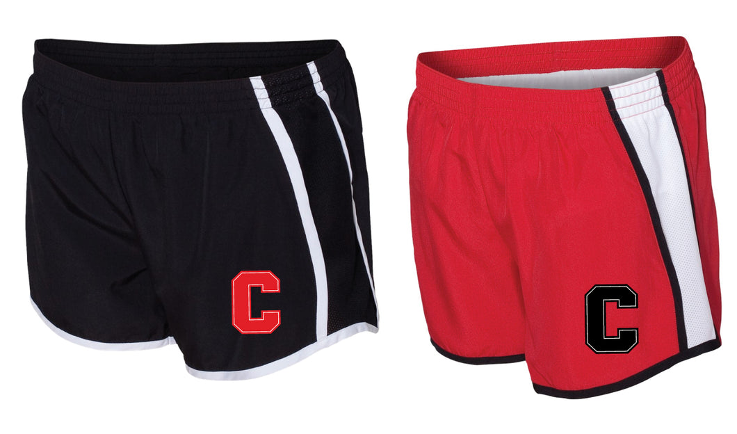 Cornell Dance Running Shorts - Black or Red
