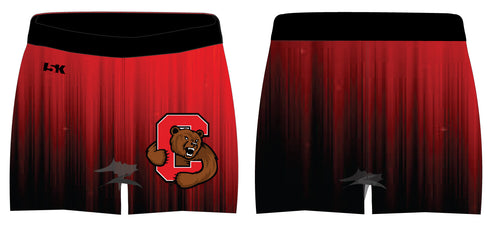 Cornell Dance Sublimated Shorts - Ombré