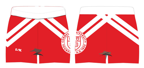 Cornell Dance Sublimated Shorts - Red