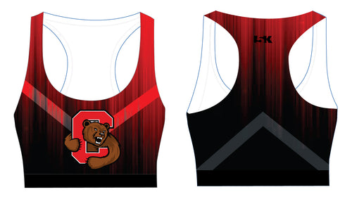 Cornell Dance Sublimated Sports Bra - Ombré