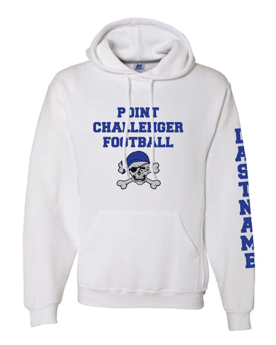 Challenger Football Russell Cotton Hoodie - White - 5KounT2018