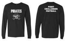 Challenger Football Cotton Long Sleeve - Black - 5KounT2018