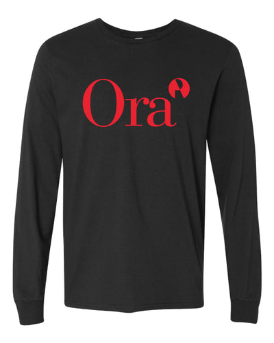 Ora Clinical Cotton Long Sleeve - Black - 5KounT2018