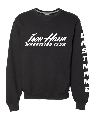 IWC Russell Athletic Cotton Crewneck Sweatshirt - Black