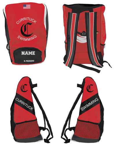 Currituck Swimming Sublimated Backpack - 5KounT2018