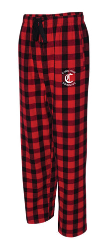 Currituck Swimming Flannel Pajama Pants -Red/Black - 5KounT2018