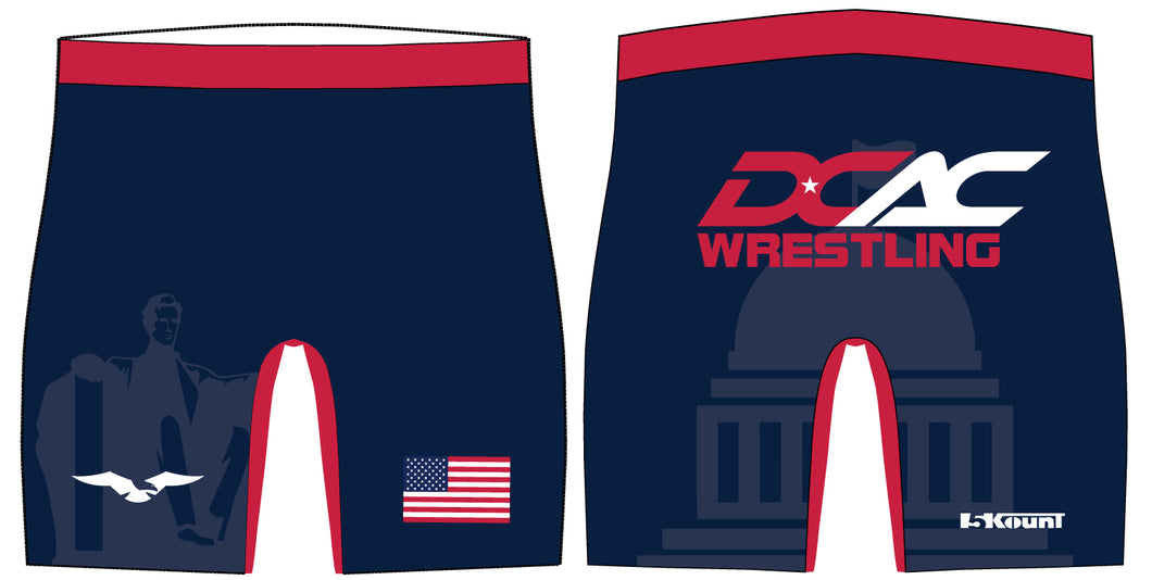 DCAC Sublimated Compression Shorts