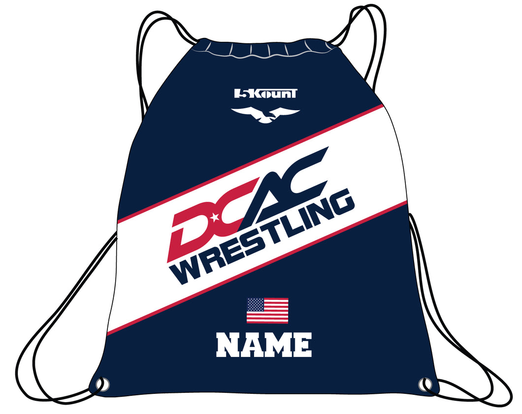 DCAC Sublimated Drawstring Bag - 5KounT