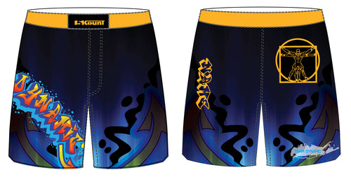 DWA Sublimated Fight Shorts - 5KounT2018