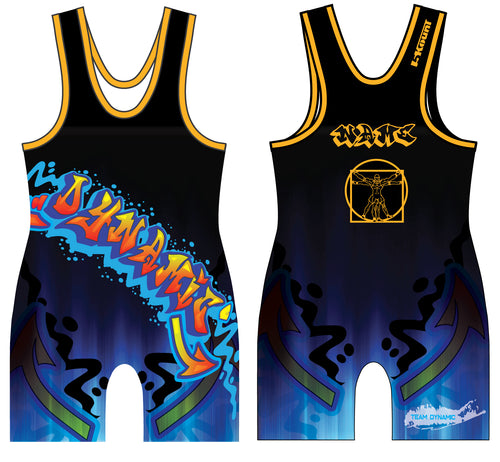 DWA Sublimated Singlet - 5KounT2018