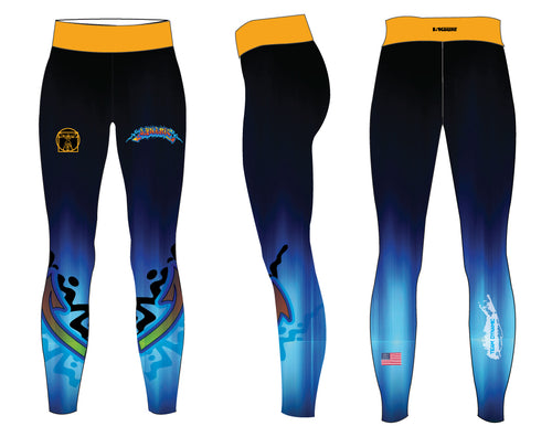 DWA Sublimated Ladies Legging - 5KounT2018