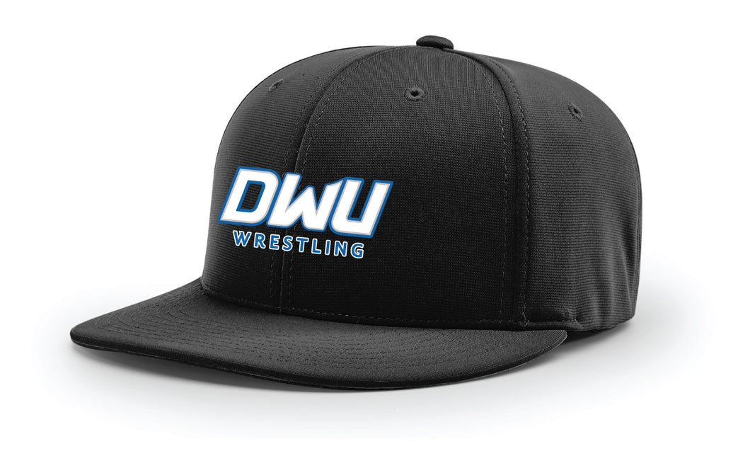 Dakota Wesleyan Univ Wrestling FlexFit Cap - Black