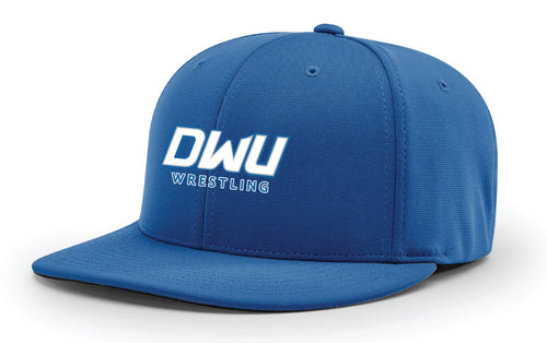 Dakota Wesleyan Univ Wrestling FlexFit Cap - Light Blue