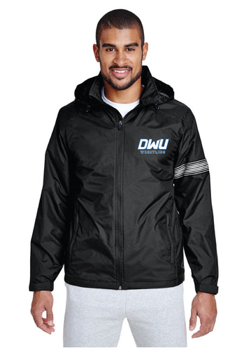 Dakota Wesleyan Univ Wrestling Hooded Jacket - Black