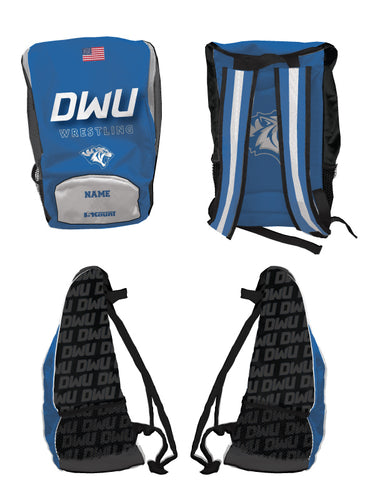 Dakota Wesleyan Univ Wrestling Sublimated Backpack