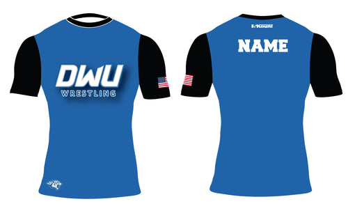 Dakota Wesleyan Univ Wrestling Sublimated Compression Shirt