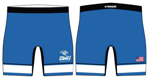 Dakota Wesleyan Univ Wrestling Sublimated Compression Shorts