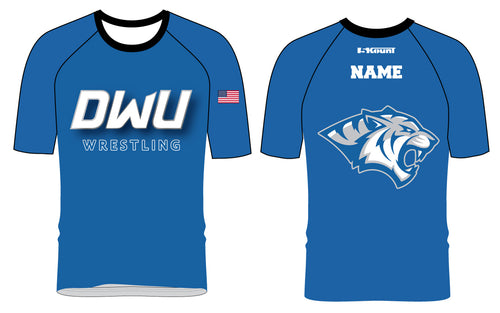 Dakota Wesleyan Univ Wrestling Sublimated Fight Shirt
