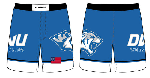 Dakota Wesleyan Univ Wrestling Sublimated Fight Shorts