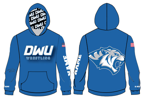 Dakota Wesleyan Univ Wrestling Sublimated Hoodie