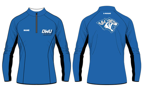 Dakota Wesleyan Univ Wrestling Sublimated Quarter Zip