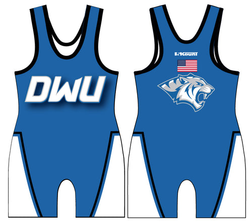 Dakota Wesleyan Univ Wrestling Sublimated Singlet