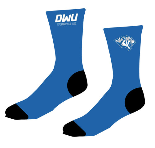 Dakota Wesleyan Univ Wrestling Sublimated Socks