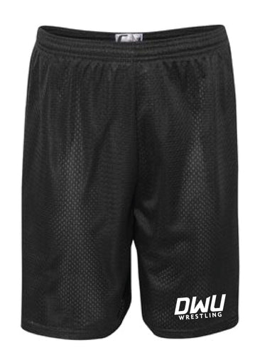 Dakota Wesleyan Univ Wrestling Tech Shorts - Black
