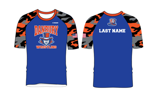 Danbury HS Wrestling Sublimated Fight Shirt - 5KounT2018