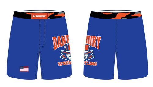 Danbury HS Wrestling Sublimated Fight Shorts - 5KounT2018