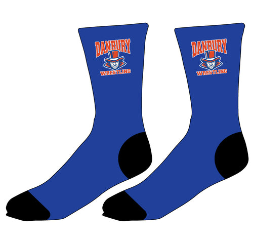 Danbury HS Wrestling Sublimated Socks - 5KounT2018