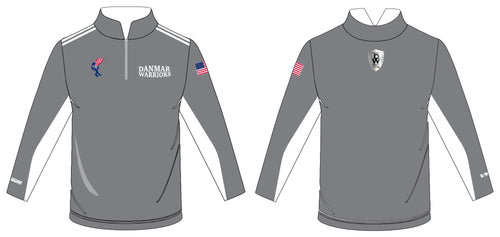 Danmar Warriors Sublimated Quarter Zip - Lightweight - 5KounT2018