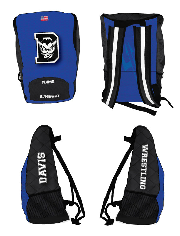 Davis Sublimated Backpack - 5KounT