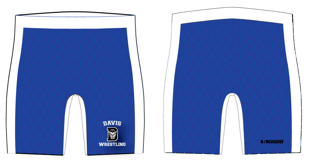 Davis Sublimated Compression Shorts - Men's - 5KounT
